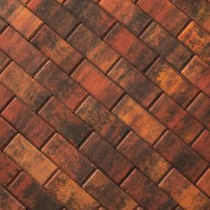 Тротуарная плитка Брусчатка 200х100 мм